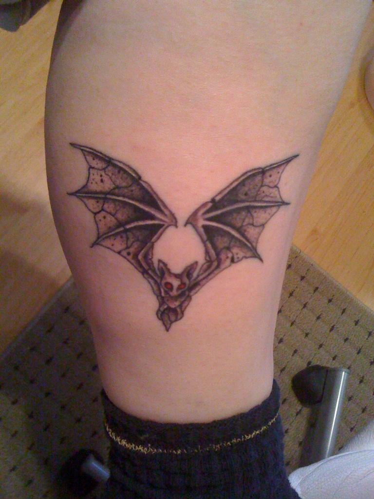 bat tattoos photo - 6