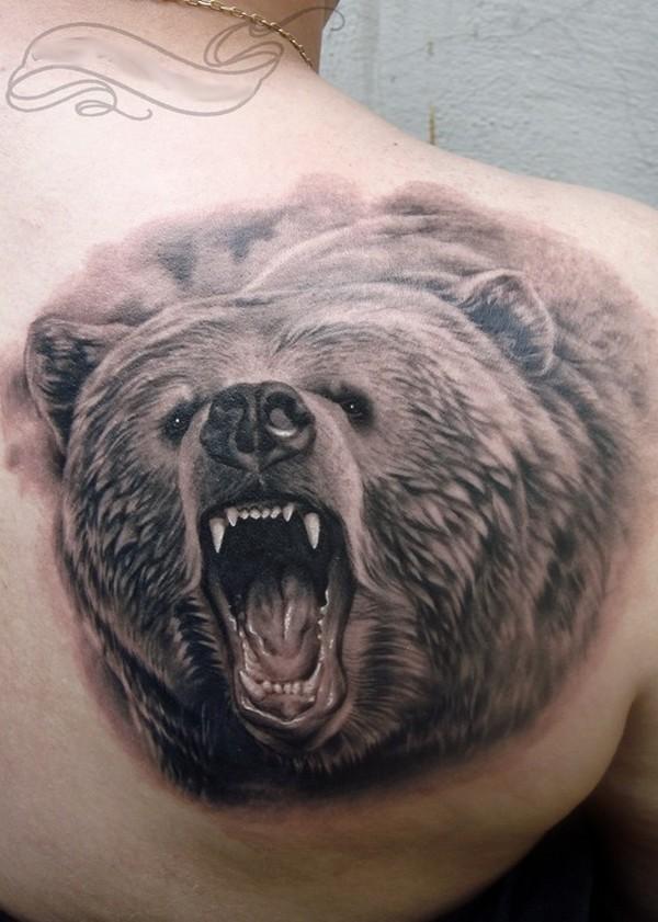 bear tattoos photo - 1