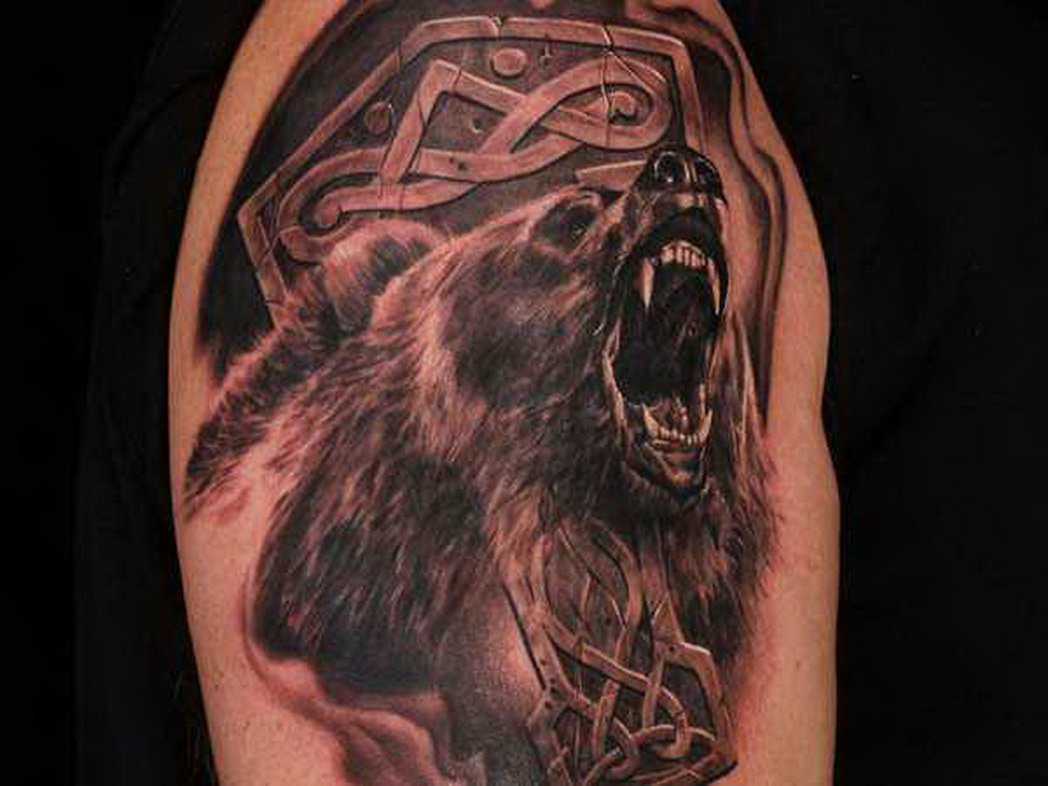 bear tattoos photo - 11