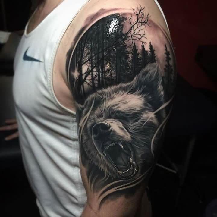 bear tattoos photo - 16