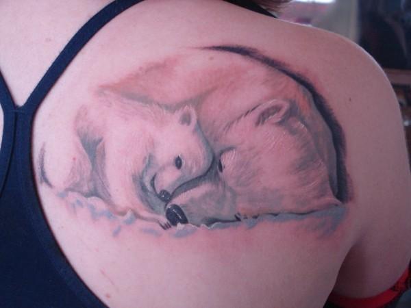 bear tattoos photo - 17
