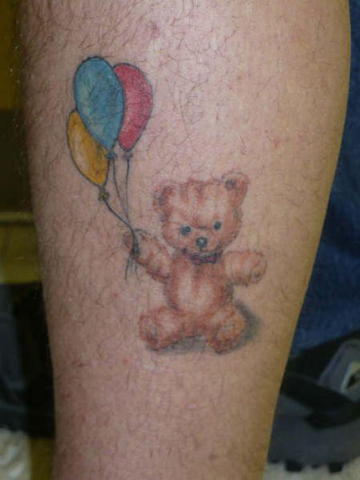 bear tattoos photo - 19