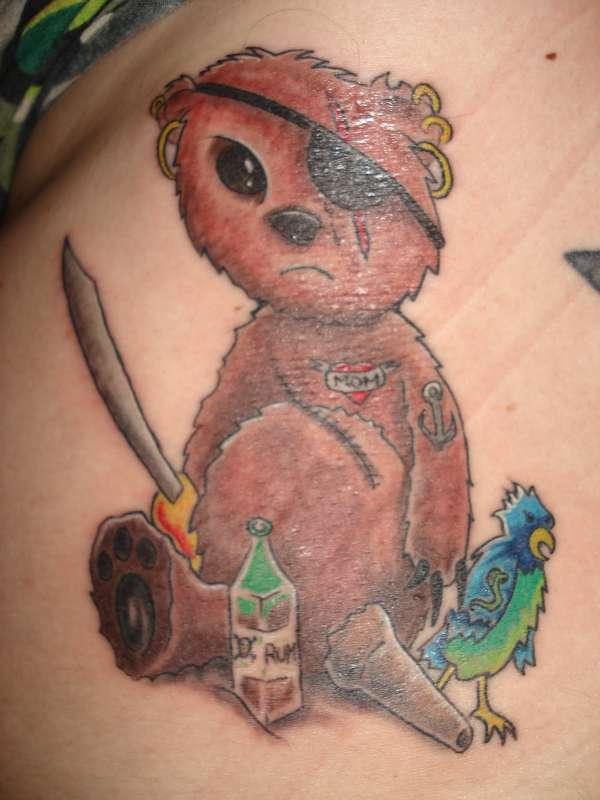 bear tattoos photo - 2