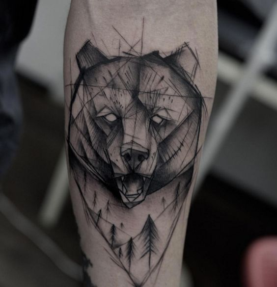 bear tattoos photo - 20