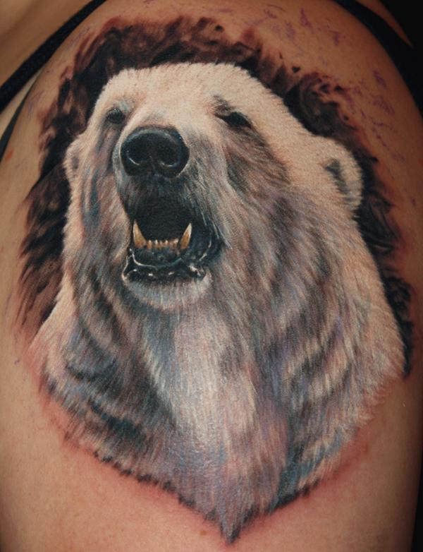 bear tattoos photo - 21