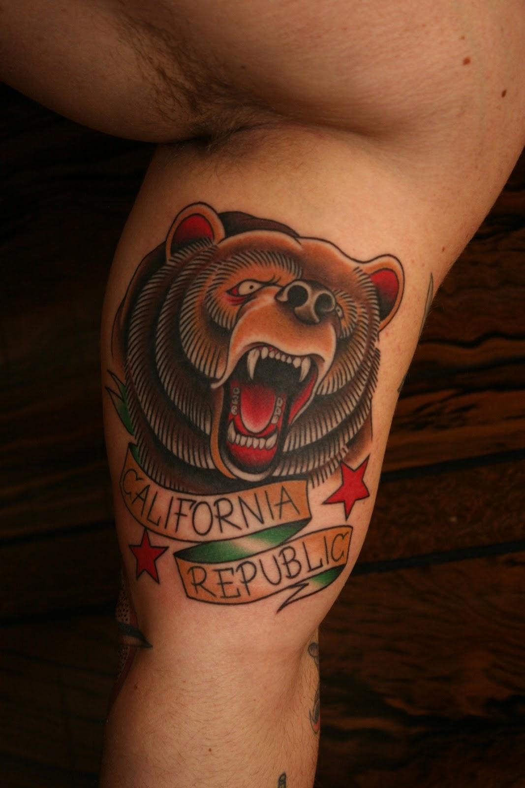 bear tattoos photo - 22