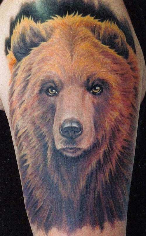 bear tattoos photo - 26