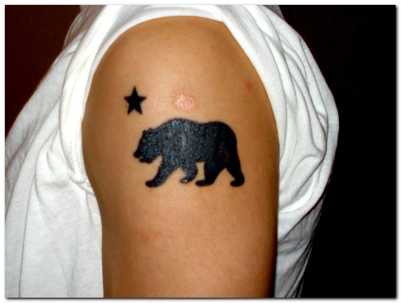 bear tattoos photo - 28