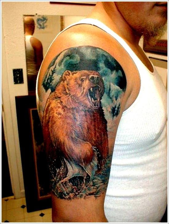 bear tattoos photo - 29