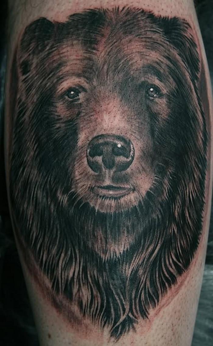 bear tattoos photo - 32