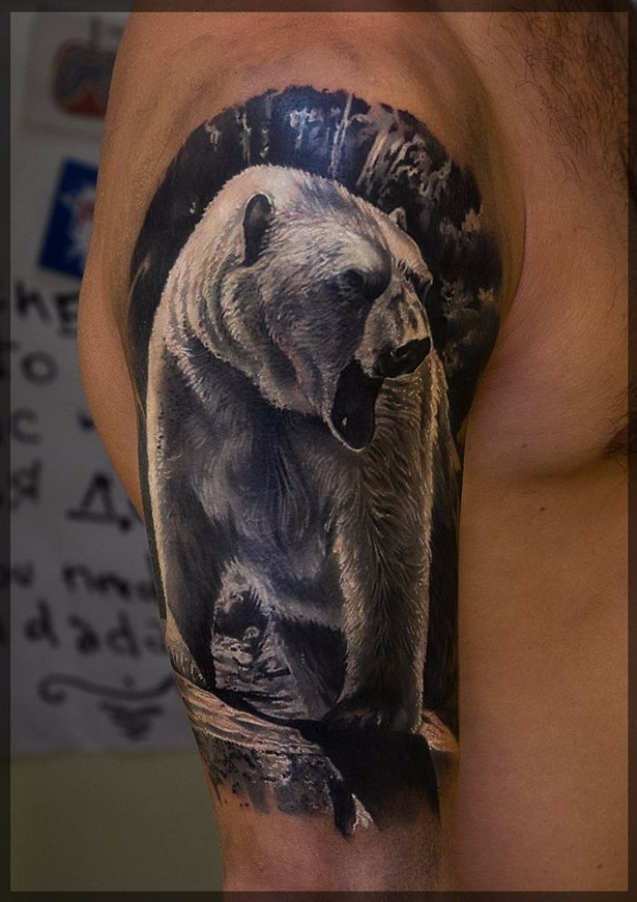 bear tattoos photo - 33