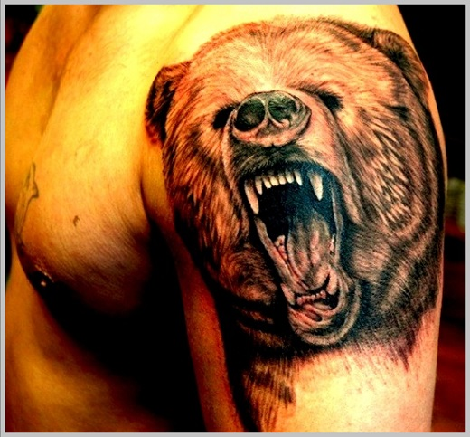 bear tattoos photo - 5