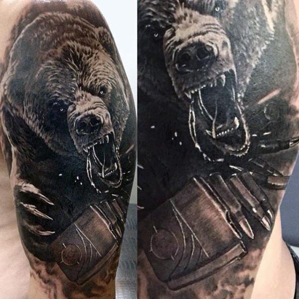 bear tattoos photo - 6