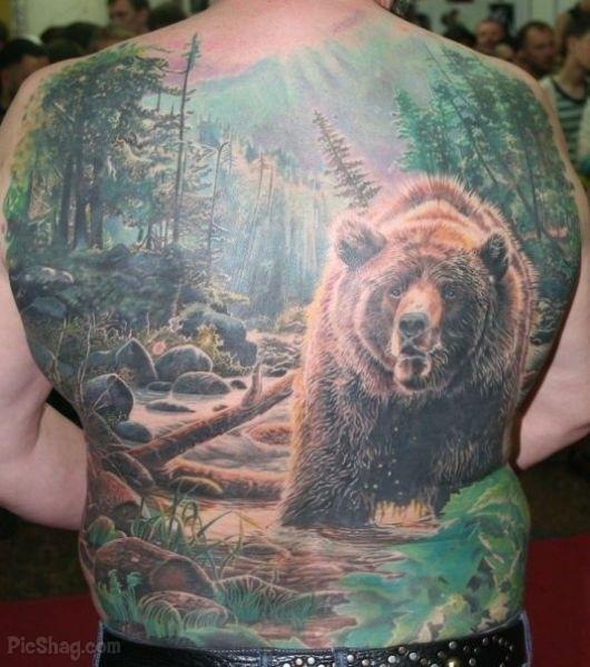 bear tattoos photo - 9