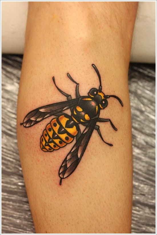 bee tattoos photo - 13