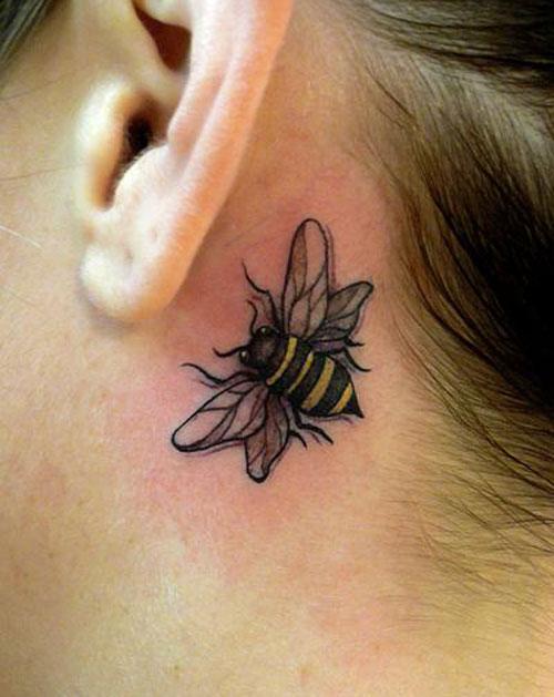 bee tattoos photo - 16