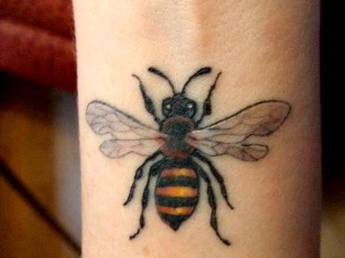 bee tattoos photo - 19