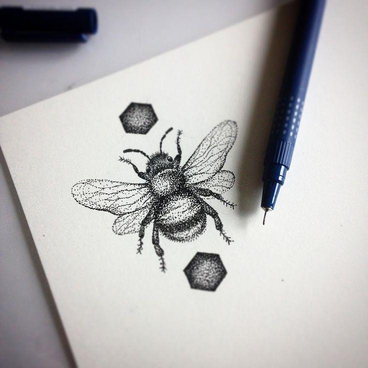bee tattoos photo - 20