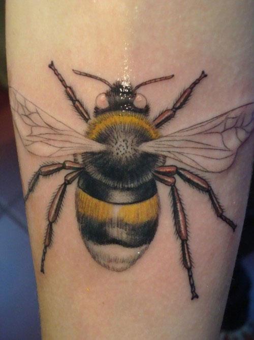 bee tattoos photo - 25