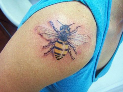 bee tattoos photo - 29