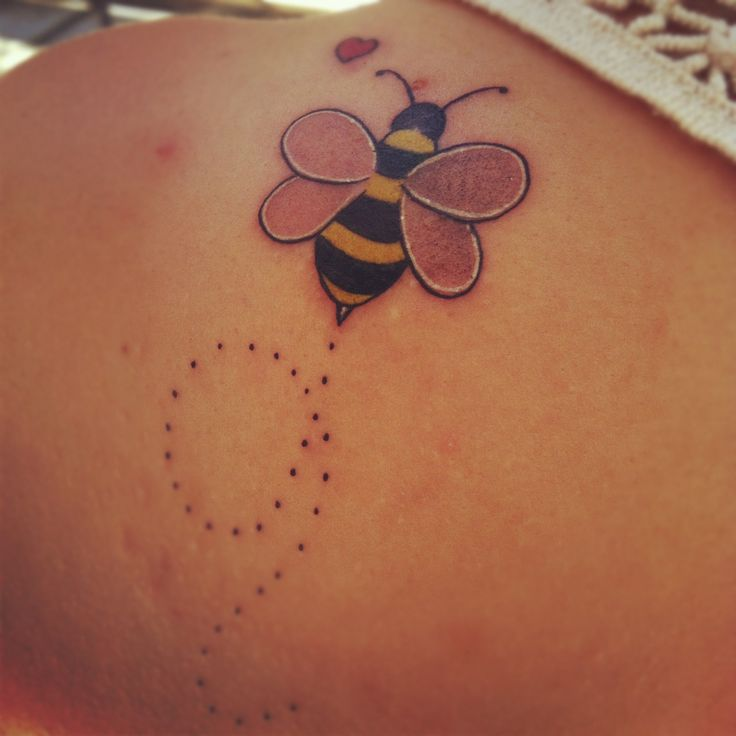 bee tattoos photo - 31