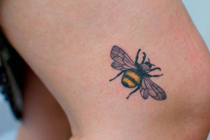 bee tattoos photo - 33