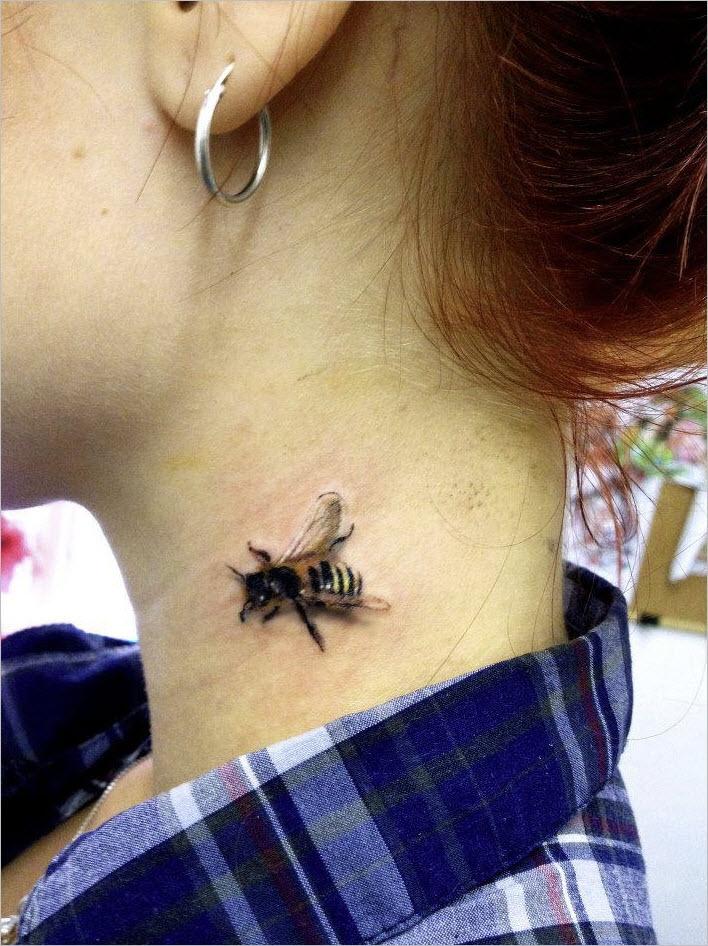bee tattoos photo - 38