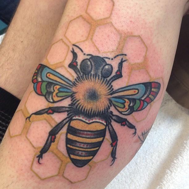 bee tattoos photo - 39