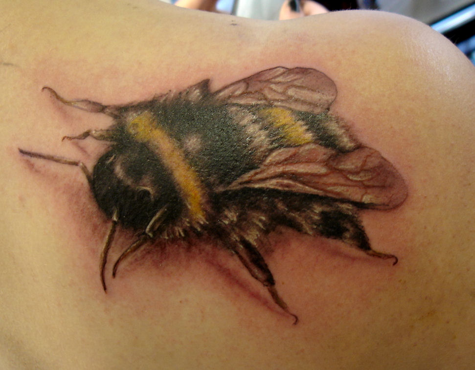 bee tattoos photo - 45