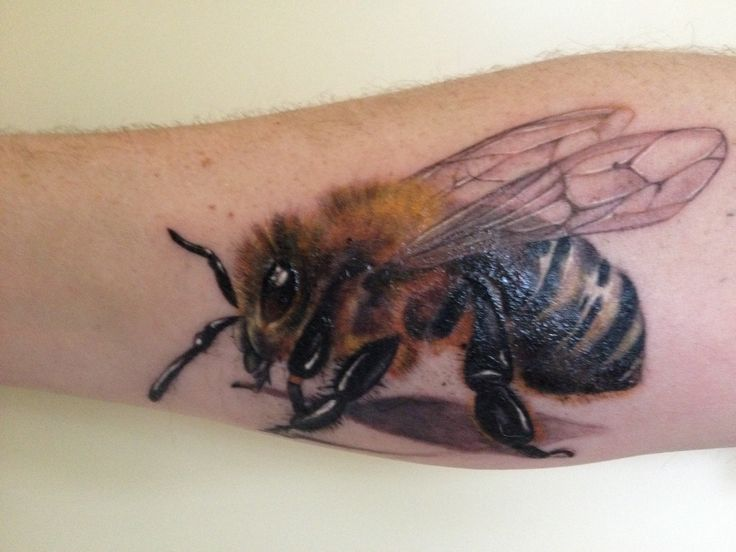 bee tattoos photo - 46