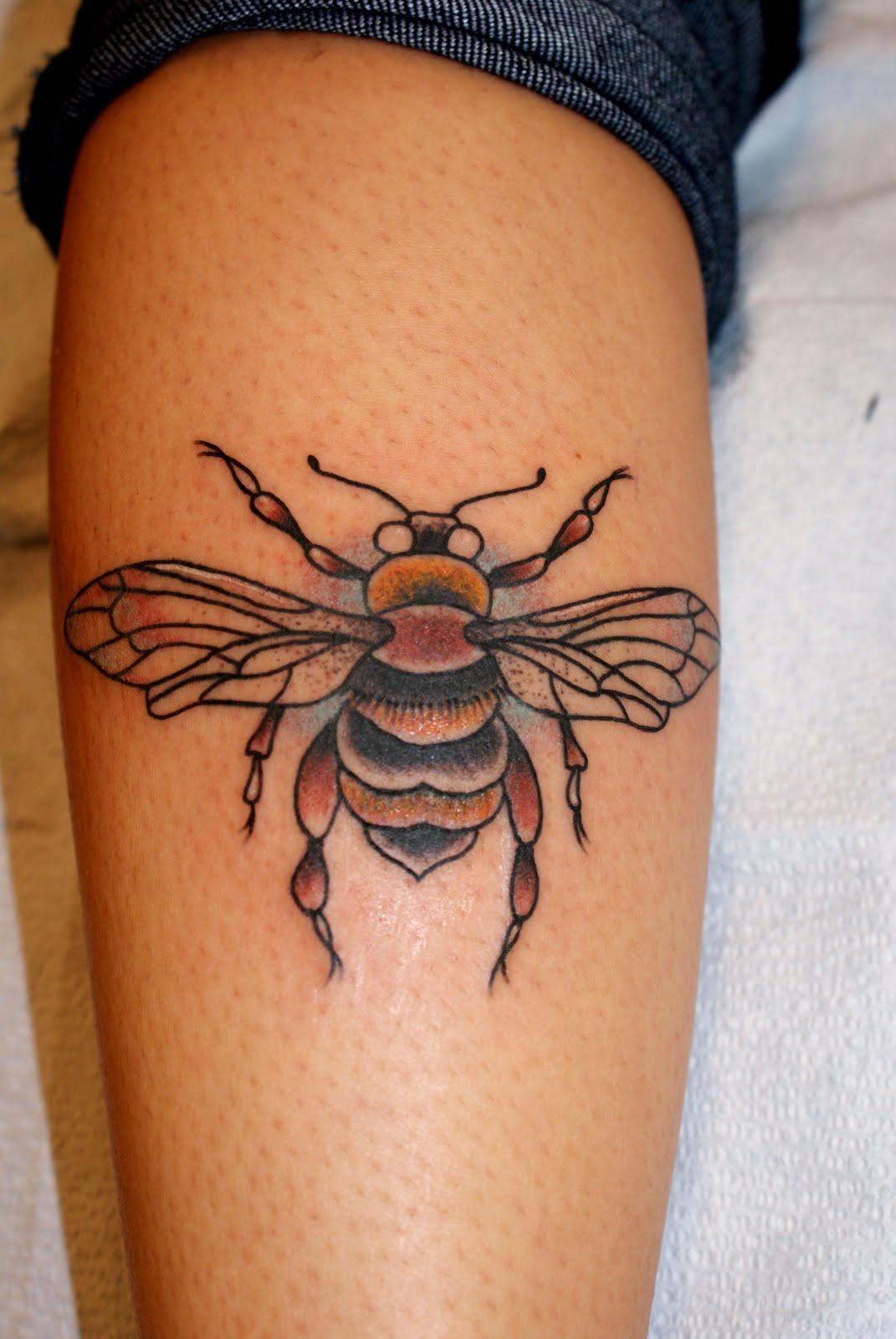 bee tattoos photo - 8