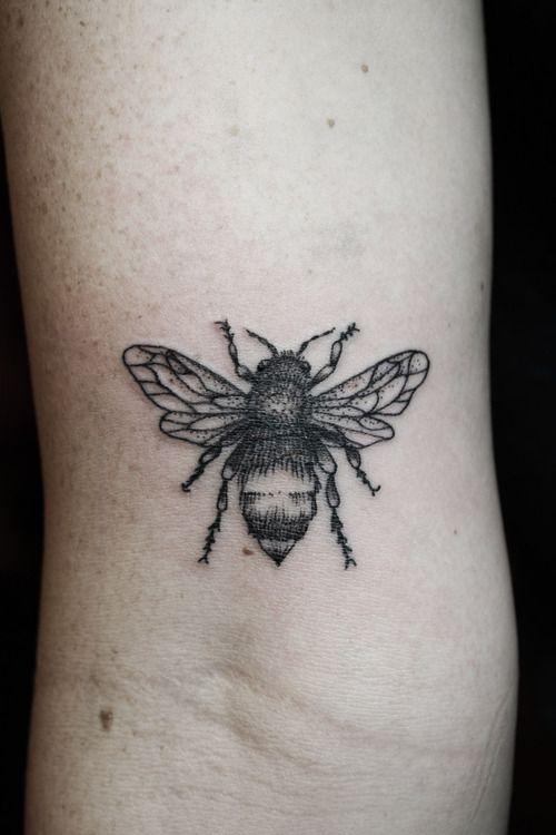 bee tattoos photo - 9