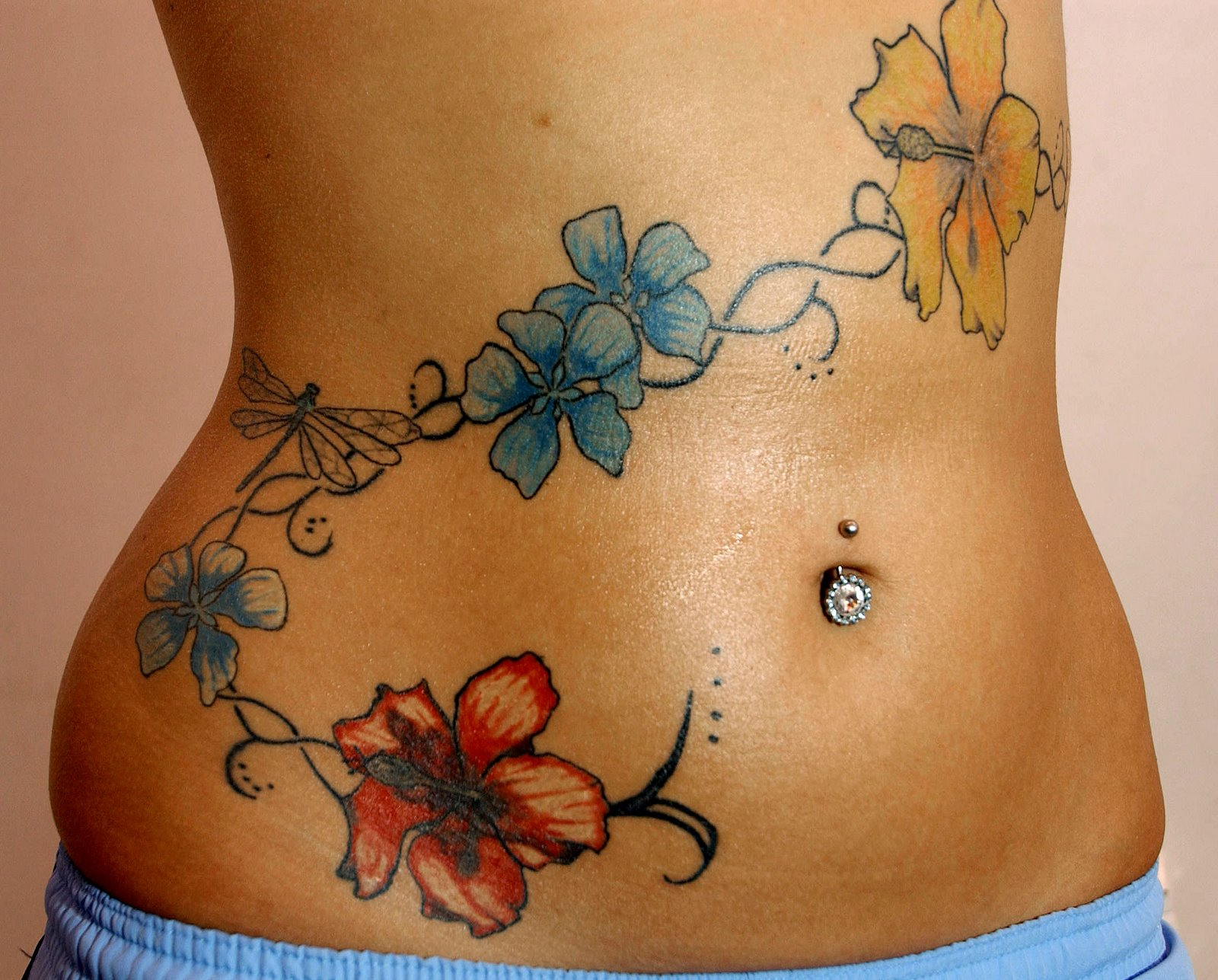 belly tattoos photo - 4