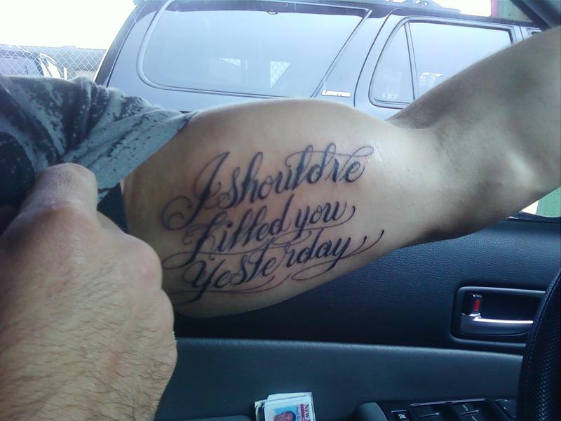 biceps tattoos photo - 7