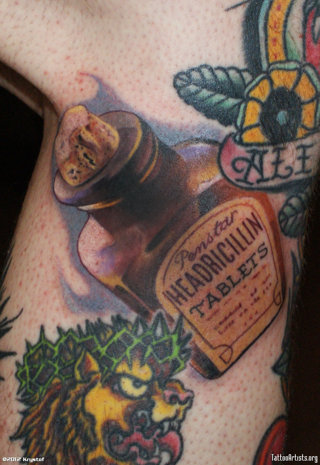 bottle tattoos photo - 1