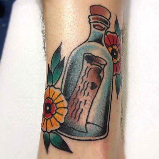 bottle tattoos photo - 13