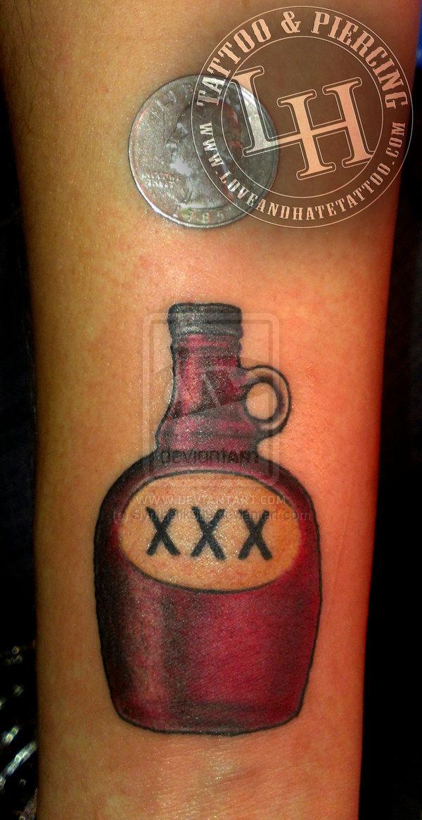 bottle tattoos photo - 14