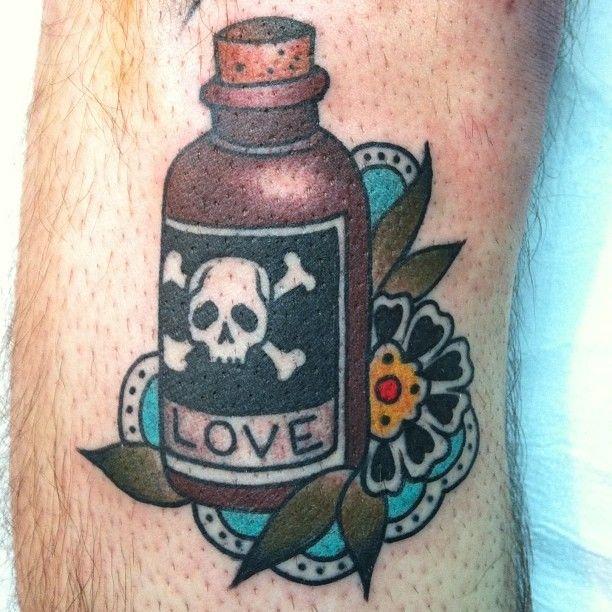 bottle tattoos photo - 20