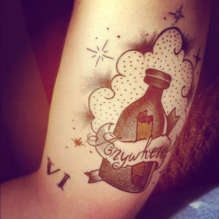 bottle tattoos photo - 26