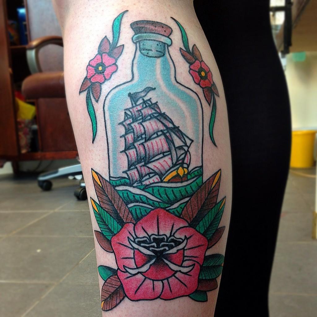 bottle tattoos photo - 3