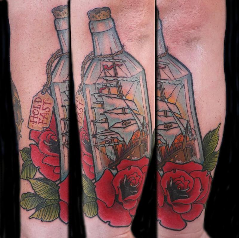 bottle tattoos photo - 33