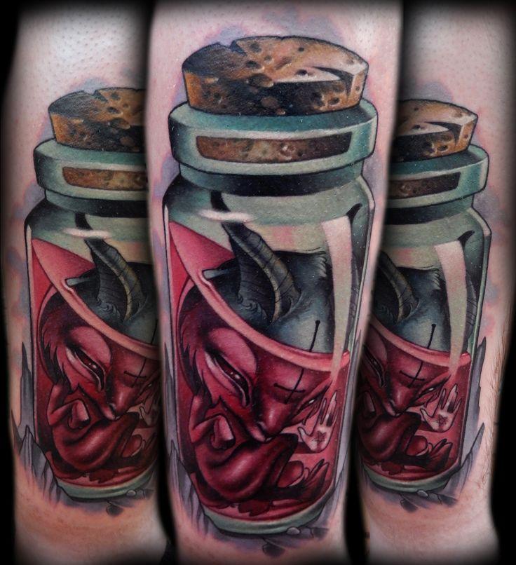 bottle tattoos photo - 6