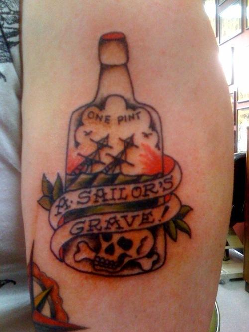 bottle tattoos photo - 8