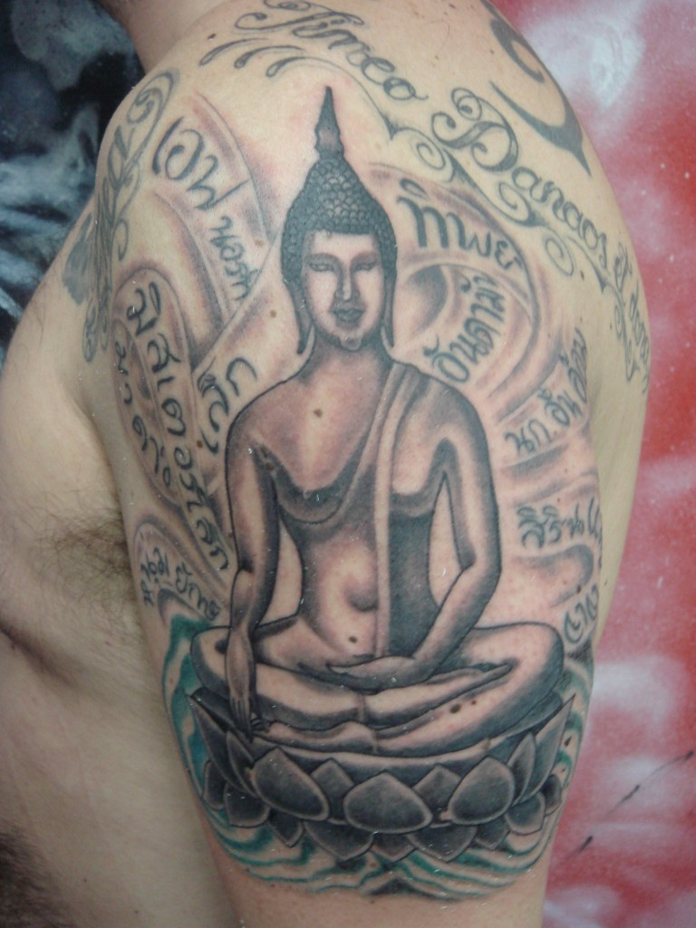 buddhist tattoos photo - 15
