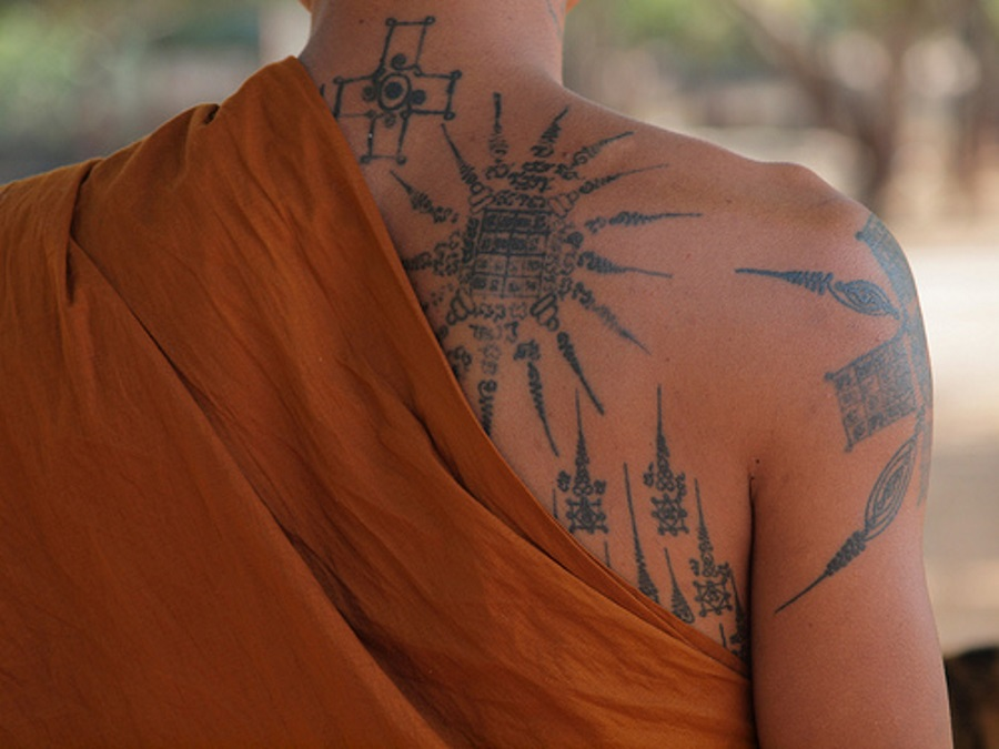 buddhist tattoos photo - 17