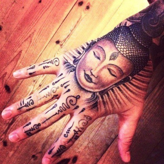buddhist tattoos photo - 18