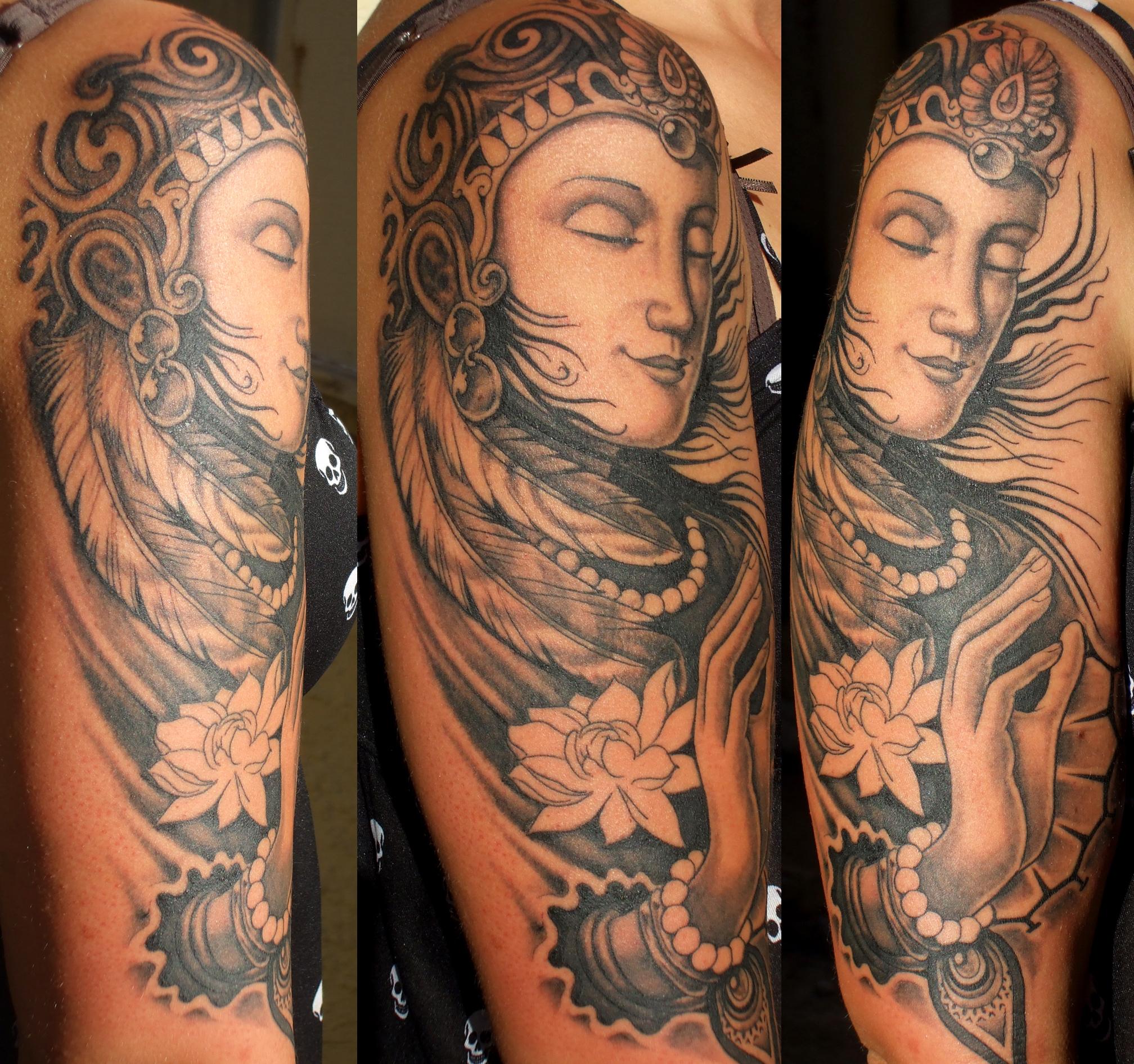 buddhist tattoos photo - 2