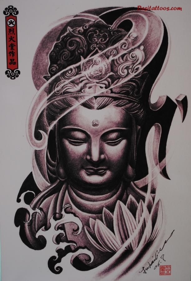 buddhist tattoos photo - 21
