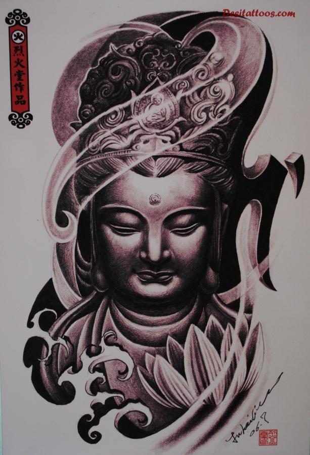 buddhist tattoos photo - 21
