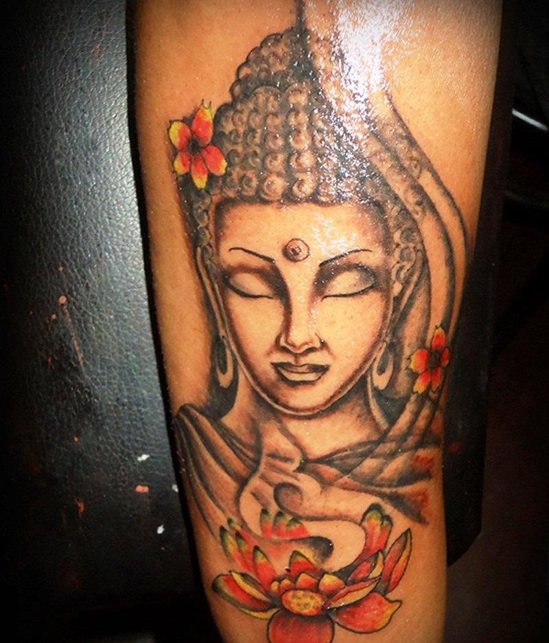 buddhist tattoos photo - 22